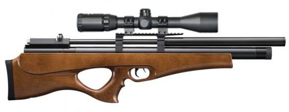 Пневматическая винтовка SPA P10 bullpup с насосом SPA и прицелом 4-16х50АОЕ