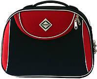 Кейс дорожный Bonro Style маленький черно-красный (10101203)