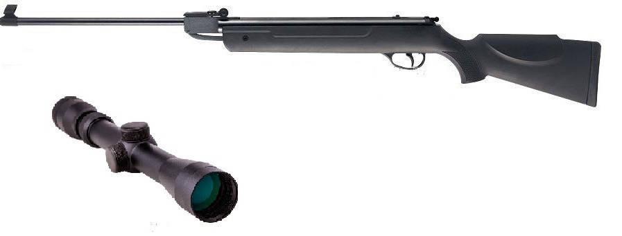 Пневматическая винтовка Hatsan 90 с газовой пружиной прицел 3-9х32 Sniper AR, фото 2
