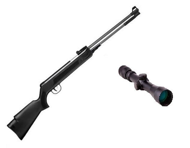 Пневматическая винтовка SPA WF600(P) с усиленной газовой пружиной прицел 3-9х40 Sniper AR