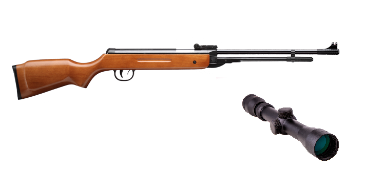 Пневматическая винтовка SPA B3-3 с усиленной газовой пружиной прицел 3-9х32 Sniper AR, фото 2