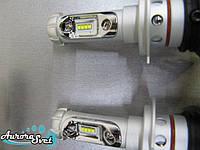 LED лампы в автомобиль. Лучшая альтернатива ксенону. LED фары ZES 2. Цоколь Н-7. 7-е поколение.