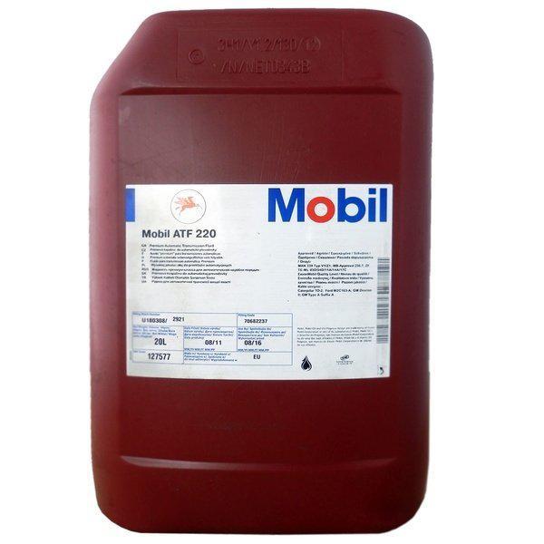 Трансмиссионное масло  Mobil ATF 220  20л