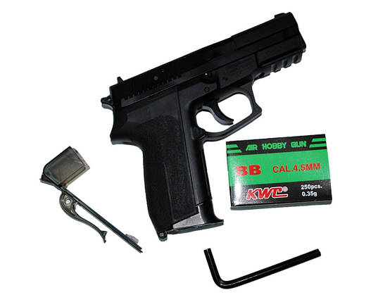 Пневматический пистолет KWC KM47DHN Sig Sauer 2022 (в металле), фото 2