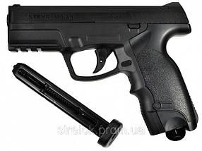 Пневматический пистолет ASG Steyr M9-A1 вставка никель, фото 2