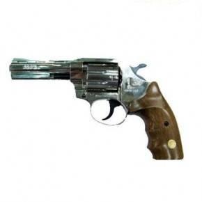 Револьвер під патрон Флобера ALFA model 461 (нікель, дерево), фото 2
