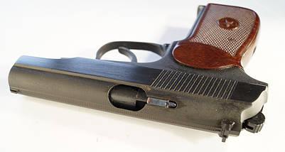 Пистолет под патрон Флобера СЕМ ПМФ-1 С ИМИТАТОРОМ ГЛУШИТЕЛЯ, фото 2