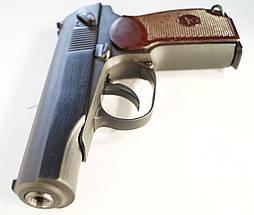 Пистолет под патрон Флобера СЕМ ПМФ-1 С ИМИТАТОРОМ ГЛУШИТЕЛЯ, фото 3