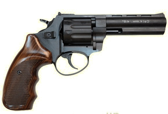 Револьвер под патрон Флобера Stalker 4,5 wood ST45W