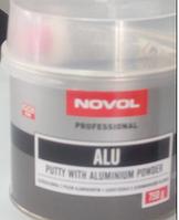 Шпатлевка NOVOL с алюминевой пылью 0,75 кг.