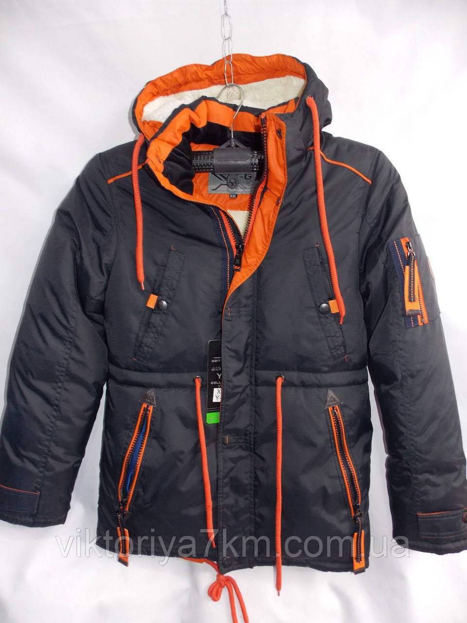 """Куртка мужская зимняя (L-4XL) """"Valet"""" RS2-1709"""