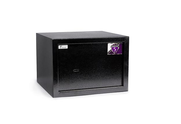 Мебельный сейф БС-25М.К.9005, фото 2