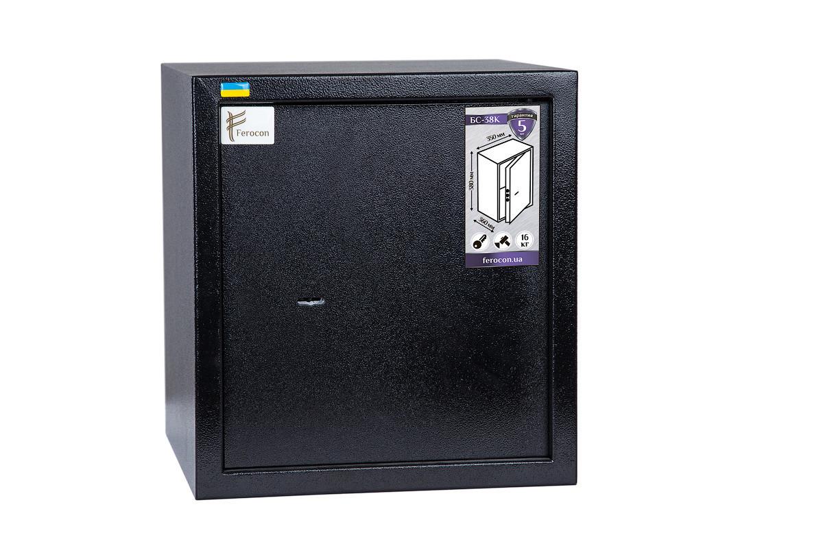 Мебельный сейф БС-38К.П1.9005