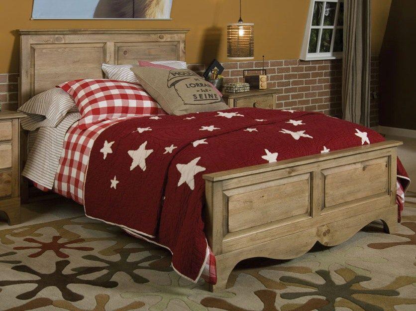 """Двухспальная кровать из дерева """"Джулиан"""""""