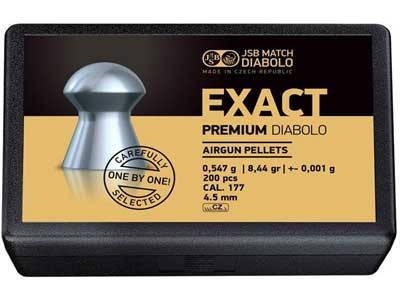 Кулі для пневматичної зброї JSB Exact Premium 4,52 мм, фото 2