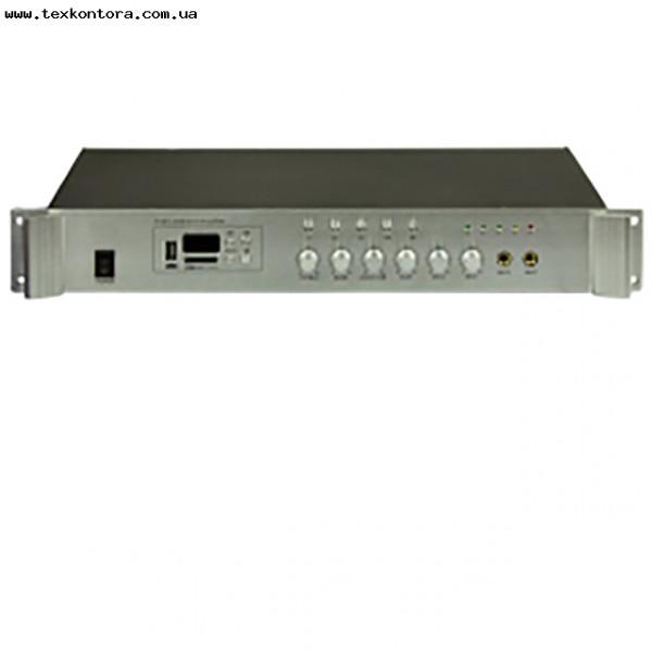 Усилитель мощности 100В PA80 5zone USB/MP3/FM/BT