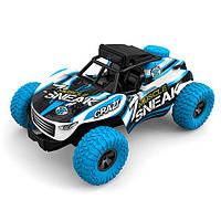 Радиоуправляемая игрушка SUNROZ детский автомобиль на р/у 1:10 Синий (SUN1778)