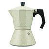 Кофеварка гейзерная 450мл (9 порции) из алюминия с широким индукционным дном KM-2518