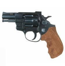 """Револьвер під патрон Флобера Weihrauch Arminius HW4 2.5"""" з дерев'яною рукояттю, фото 2"""