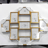 Рамка коллаж пластиковая на 9 фотографий