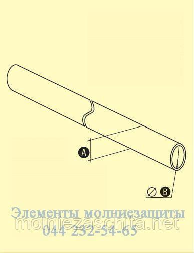 104.1 Труба монтажная
