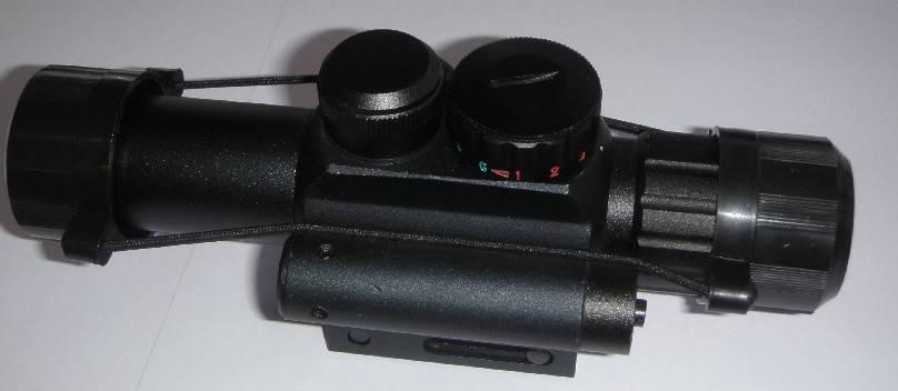 4х25 E RangeFinder с целеуказателем, фото 2