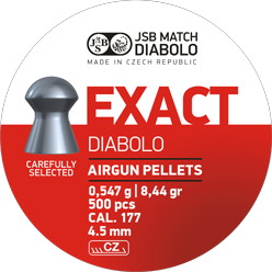 Пули для пневматического оружия JSB Diabolo Exact 4,53 мм, фото 2