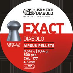 Пули для пневматического оружия JSB Diabolo Exact 4,51 мм