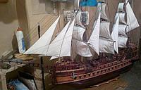 Корабль деревянный 4,11-15