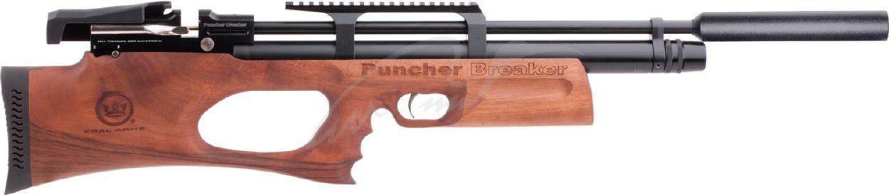 Пневматическая винтовка Kral Puncher Breaker PCP Wood