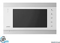 Цветной видеодомофон ARNY AVD-720M Wi-Fi (Белый)