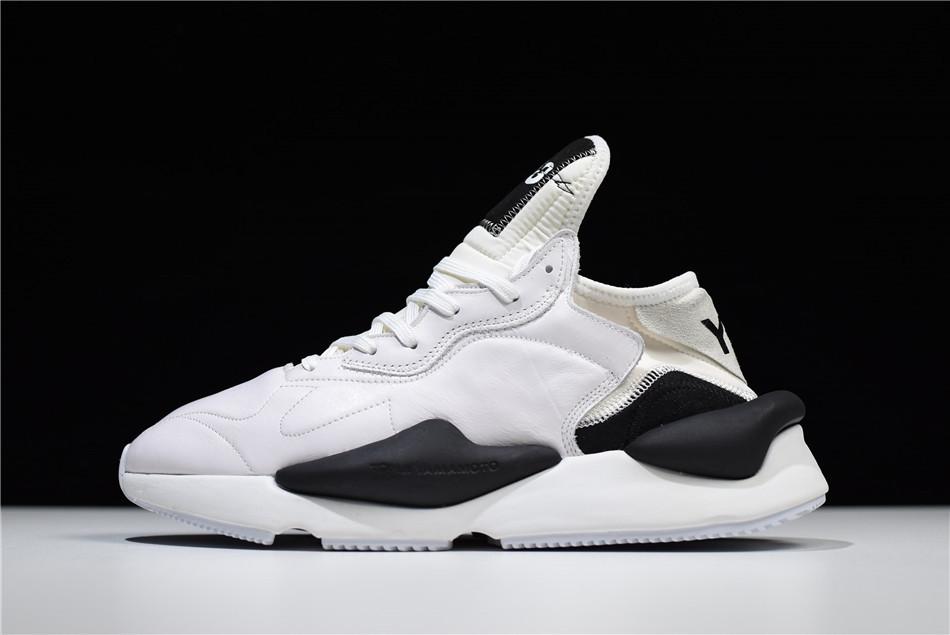 "Кроссовки Adidas Y-3 Kaiwa ""White/Black"" (Белые/Черные)"