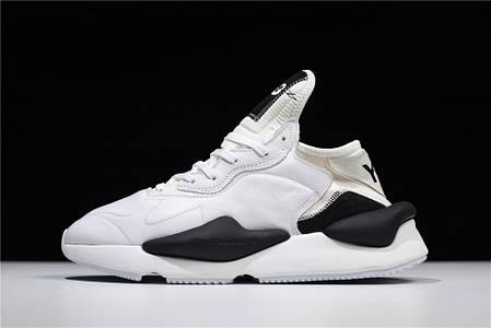 "Кроссовки Adidas Y-3 Kaiwa ""White/Black"" (Белые/Черные), фото 2"