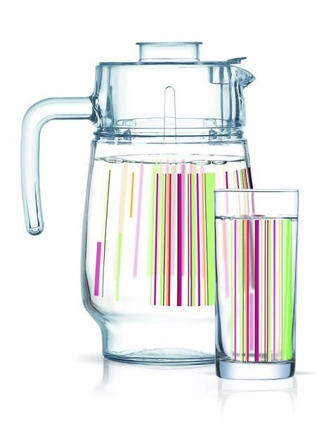 Питьевой набор LUMINARC AMSTERDAM RAYS 7 предметов (N0956)