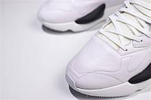 "Кроссовки Adidas Y-3 Kaiwa ""White/Black"" (Белые/Черные), фото 3"