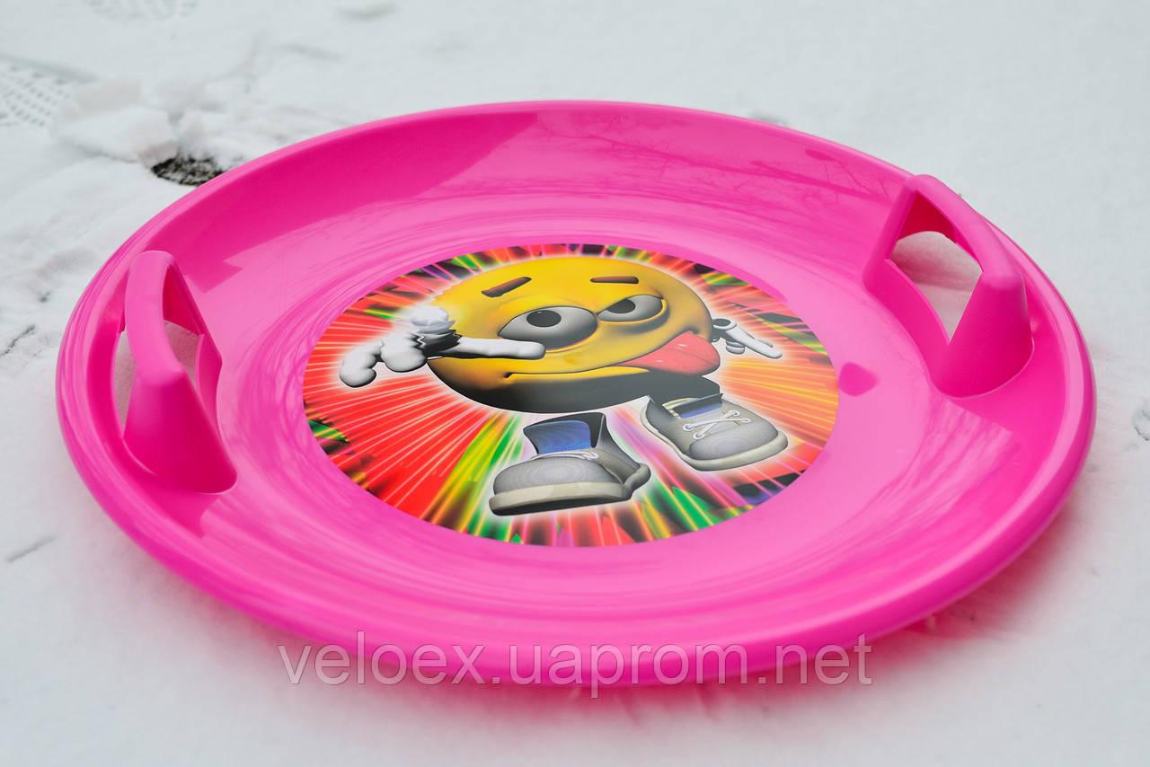 Тарелка Marmat розовая