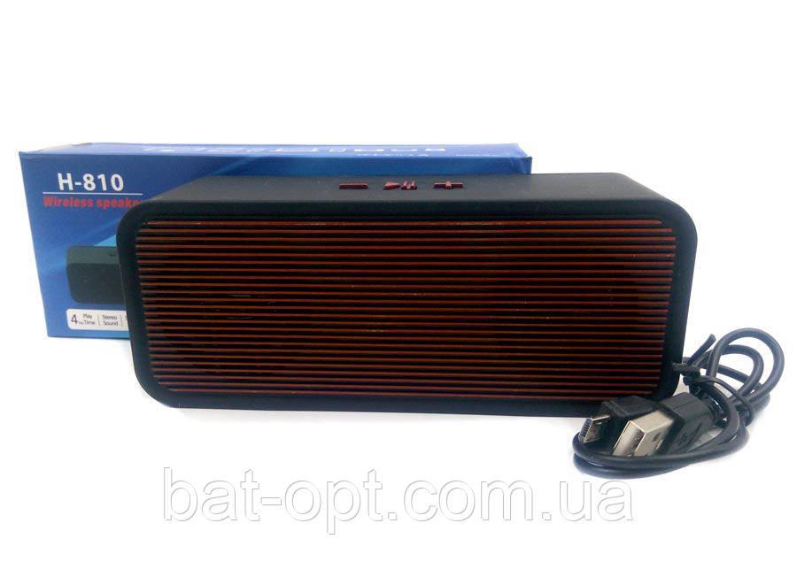 Радиоприемник колонка H-810 красная