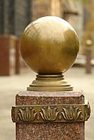 Архитектурный декор и лепнина: шар на базисе