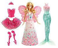 Барби в сказочных образах с одеждой и аксессуарами