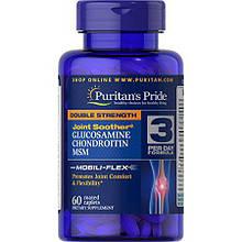 Хондопротектор DS Glucosamine, Chondroitin & MSM Joint Soother 60 каплет