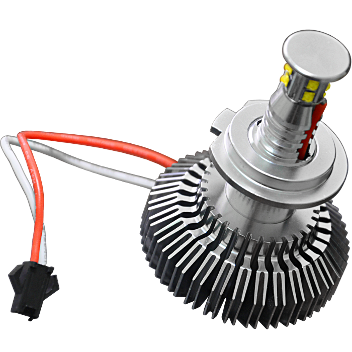 Комплект светодиодных ламп в основные фонари под цоколь Н7 40W 1800 Люмен/Комплект
