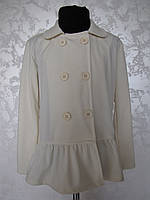 Белый пиджак для девочек 128,140,152,164 роста