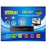 TV тюнер Т2 приемник для цифрового ТВ, DVB-Т2 OP-207 Operasky, ТВ тюнер, T2 приставка, фото 4