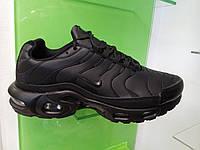 Мужские кроссовки в стиле Air Max TN plus leather black
