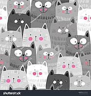 Фотообои кошачий лес
