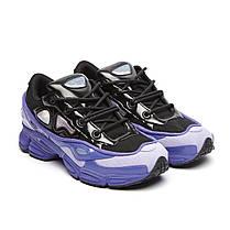 """Кроссовки  Adidas x Raf Simons Ozweego III """"Purple Black"""" (Пурпурные/Черные), фото 3"""