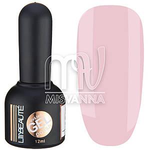 Гель-лак Lilly Beaute №7, 12 мл спокойный светло-розовый