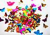 Конфетти разноцветные бабочки (фольга), фото 2