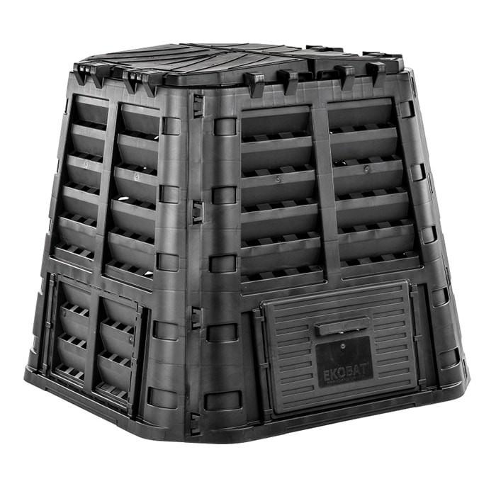 Садовый компостер ECOSMART 420 литров (черный)