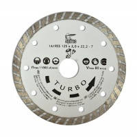 "Алмазный диск 115мм ""TURBO"" Spitce по бетону и камню, 22-805"